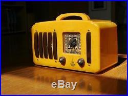 Catalin Radio Emerson ArtDeco Art Deco Bakelite Vintage Tube EP 375 5+1
