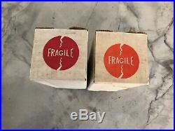 Cetron 572B / T160L = 811A Ham Radio Amplifier Tube NOS Matched Pair Vintage USA