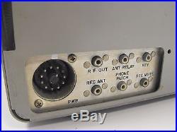 Collins 32S-3 Vintage Tube Ham Radio Transmitter for Parts or Restoration