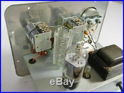 Conar Model 400 Vintage Tube Ham Radio Transmitter (powers up, unmodified)