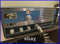 Courier Ranger 23 Vintage Tube Type CB Radio Transceiver (Tram Browning Era)