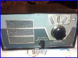 (D222) Vintage Drake RV-3 Tube Ham Radio Remote VFO/Speaker Unit