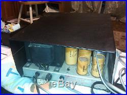 D222) Vintage Drake RV-3 Tube Ham Radio Remote VFO/Speaker