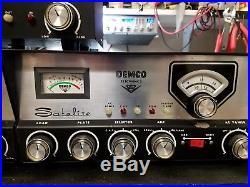 Demco Satelite Vintage Tube Cb Radio
