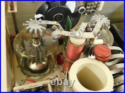 Drake L7 Vintage Ham Radio 3-500Z Tube Amplifier (wired for 120V, one bad meter)