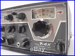 Drake T-4X Tube Transmitter for 4-Series Vintage Ham Radio Equipment SN 13602