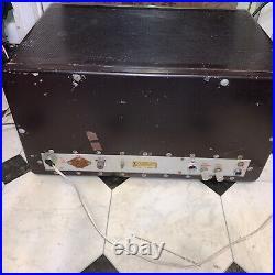 EF Johnson Pacemaker Vintage Tube Ham Radio Transmitter Nice Working Condotion
