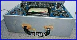 EICO 625 Vintage Radio Vacuum Tube Tester Good shape with setups! Ham Audio 6SN7