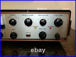 EICO 720 Ham Amateur Radio CW 90 watt Transmitter 80-10 Meters Vintage Tube NR
