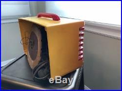 EMERSON PATRIOT RADIO Model 400 WHITE Catalin Vintage 1940 Art Deco ORIGINAL