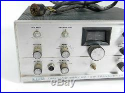 Eico 753 Vintage Tube Ham Radio SSB CW Transceiver with Cable (untested)