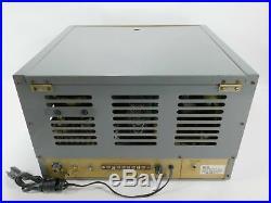 Eldico SSB-100F Vintage Tube Ham Radio Transmitter with Manuals (untested)