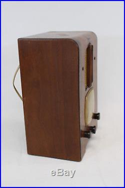 Emerson Ingraham Model 156 Vintage Vacuum Tube Radio 1937/1938
