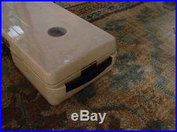 Emerson vintage radio Model 640,1940's Beige marbled battery operated
