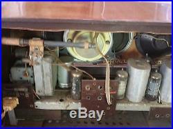 Emud Rekord Junior 196 vintage tube radio Sounds Great Listened to AM & FM