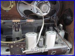 Emud Rekord Senior 60 Vintage Wood Multiband Tube Radio Western Germany 1959 VGC