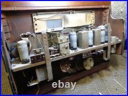 Estate 1946 Vintage Very Rare Tube Murphy Radio Receiver S A104 Flat Type