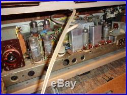 Estatevintage MID Century Mod Rare Grundig Stereomeister 15 Tube Tabletop Radio