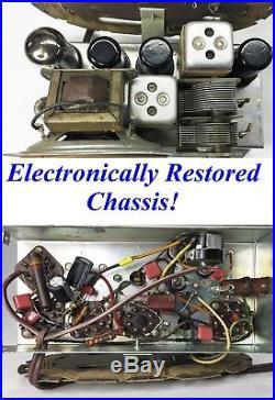 Exquisite Restored Antique Vintage 1948 General Electric GE Bakelite Tube Radio