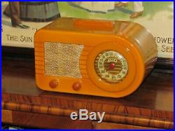 FADA Bullet catalin tube radio vintage fada