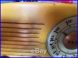 FADA Catalin Model 700 Cloud tube radio, vintage 1940's