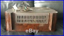 Ferguson 384U Radio Working Vintage 1955 Early FM Valve Tube Radio MW LW SW