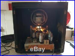 Ferranti 1137 All Wave A. C Superhet Receiver Radio Vintage 1937 Valve Tube
