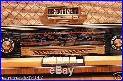 Full Restored! Philips BD563A Saturn 563 Vintage Tube Radio Splendid Condition