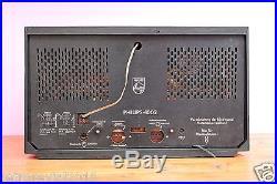 Full Restored! Rarity Philips 1002 BD583A Vintage Tube Radio 1950s FM MW LW KW
