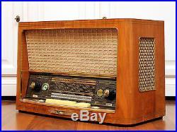 Full Restored! SABA Meersburg Automatic 8 Vintage Tube Radio Excellent Freiburg