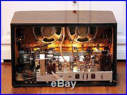 Full Restored! SABA Meersburg Automatic 8 Vintage Tube Radio like Freiburg TOP