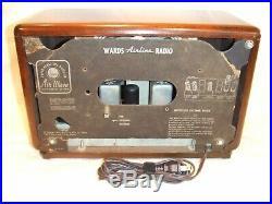 Fully Restored 1946 Airline Model 62-1804 Antique Vintage Tube Working AM Radio