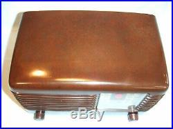 Fully Restored 1946 Vintage Philco Model 46-200 Antique Tube Working AM Radio