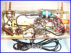 Fully Restored 1948 Vintage Philco Model 48-200 Antique Tube Working AM Radio