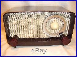 Fully Restored 1949 Vintage Zenith Model G510 Antique Old Tube Working AM Radio