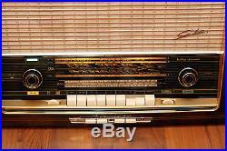 Fully Restored! SABA Freiburg Automatic 9 Vintage Tube Radio EL84 Germany TOP