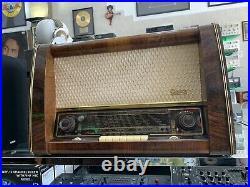 GREATZ GROSS-SUPER 174W Radio Vaccum Tube Vintage Works Like Grundig Telefunken