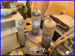 GRUNDIG 5050 biggest tube radio vintage tuberadio majestic 1958 PP Telefunken