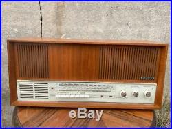 GRUNDIG Konzertgerät 4570 stereo tube radio from 1966 vintage tuberadio