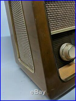German vintage tube shortwave radio Emud Rekord Senior 60 shortwave