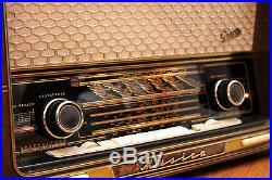 Graetz Musica 4R / 417 Vintage Tube Radio Sound Compressor Valve AMP TOP
