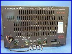 Hacker Mayflower 2 Radio RV20 FM Valve Tube Vintage