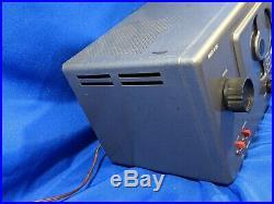 Halicrafters Shortwave AM Tube Radio Model S-38C ham VTG Rare Nice Shape