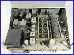 Hallicrafters SX-42 Vintage Tube Ham Radio Receiver (looks good, powers up)