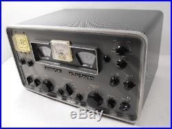Hammarlund HQ-170 Vintage 160 6 Meter Ham Radio Tube Receiver SN 2677