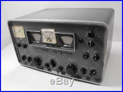Hammarlund HQ-170 Vintage 160 6 Meter Ham Radio Tube Receiver SN 6590