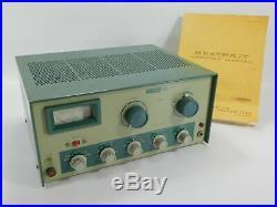Heathkit DX-60 Vintage Tube Ham Radio Transmitter with Manual (untested)