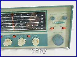 Heathkit HR-10 Vintage Tube Ham Radio Receiver Looks Good (untested)