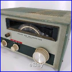 Heathkit HW-16 CW Ham Radio Vintage Tube Transceiver