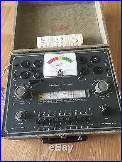 Heathkit TC-2P (TC-2) Vintage Ham Radio Tube Tester + Ref Proven Reliable Nice 2